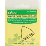 Craie triangulaire jaune unité - 256