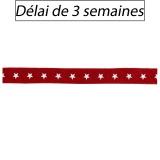 Ruban Panduro Design de noël etoiles rouges - 26