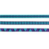 Set Panduro design de 3 rubans turquoise 3 x 2 m - 26