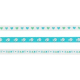 Set Panduro design de 3 rubans  bébé bleu 3 x 2 m - 26