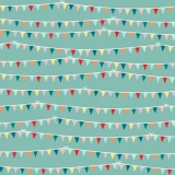 Tissu Panduro design 150 cm flags - 26
