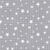 Tissu panduro design stars & stripes grey - 26