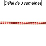 Ruban Panduro Design à feuilles rouge - 26