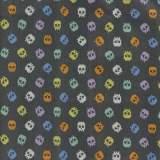 Tissu coton 50/70cm bones - 26
