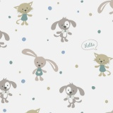 Tissu Panduro Design 140 cm happy animals - 26