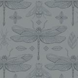 Tissu Panduro Design 140 cm bugs & dragonfli - 26