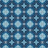 Tissu panduro design morocco blue  - 26