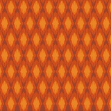 Tissu panduro design rhomb orange - 26