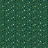 Tissu panduro design confetti green - 26