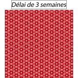 Tissu panduro design red stars - 26