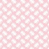 Tissu tilda x 1m blanc rose rose - 26