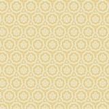 Tissu tilda x 1m ornament mustard - 26