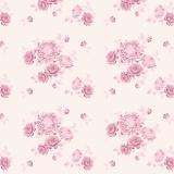 Tissu tilda x 1m gardenmemories lilac - 26