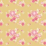 Tissu tilda x 1m garden mustard - 26