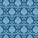 Tissu tilda x 1m ruby blue - 26