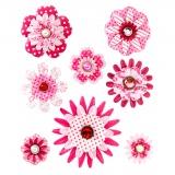 Attache parisienne fleur Tilda x 8 pc - 26