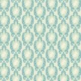 Tissu tilda x 1m vintage orn blue - 26