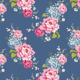 Coupon Tilda 35x50 flowerpatch blue - 26