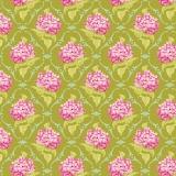 Tissu tilda x 1m lilac green - 26