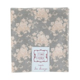 Coupon Tilda 50x55 cm white flower greyg - 26