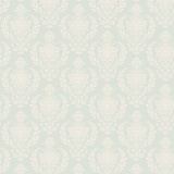 Tissu tilda x 1m damask teal - 26