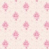 Tissu tilda x 1m venice pink - 26