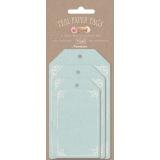 Etiquette cadeau bleue Tilda - 26