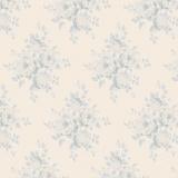 Tissu Tilda mina blue 110 x 1 mètre - 26
