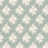 Tissu tilda x 1m sally blue green - 26