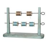 Rangement pour bobines, rubans Tilda, vert - 26