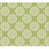 Tissu tilda x 1m flower ball olive - 26