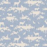 Tissu tilda x 1m forest light blue - 26