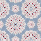 Coupon Tilda 50x55 cmdoilies light blue - 26