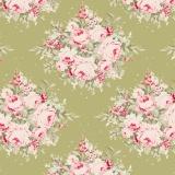 Tissu tilda x 1m floribunda green - 26