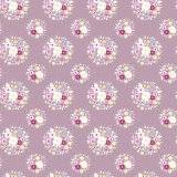 Tissu tilda x 1m thula lilac - 26