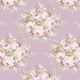 Tissu Tilda 50x55cm floribunda lilac - 26