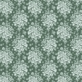 Tissu Tilda 110cm 1 mètre audrey ocean green - 26