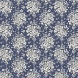 Tissu Tilda 110cm x 5 m audrey dark blue - 26