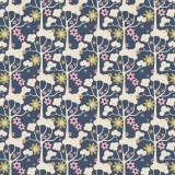 Tissu Tilda 110cm x 5 m wildgarden dark blue - 26
