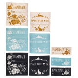Etiquettes textile tilda memory lane 3 couleurs et - 26