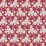 Tissu Tilda 50x55 cm Candyflower red - 26