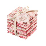 Ballotin tilda 14 coupons rouge blanc 27x50 cm  - 26