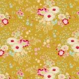 Tissu tilda 50x55 lucille olive - 26