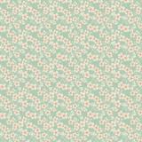 Tissu tilda 5m x 110 cm cherry blossom teal - 26