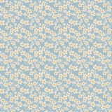 Tissu tilda 5m x 110 cm cherry blossom blue - 26