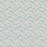 Tissu tilda 1m x 110 cm cherry blossom blue - 26