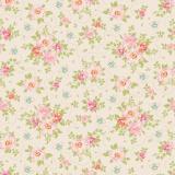 Tissu tilda 1m x 110 cm rosa mollis linen - 26