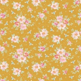 Tissu tilda 1m x 110 cm rosa mollis golden - 26