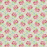 Tissu tilda 110 cm x 5 m clown flower linen - 26