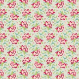 Tissu tilda 1m x 110 cm clown flower linen - 26